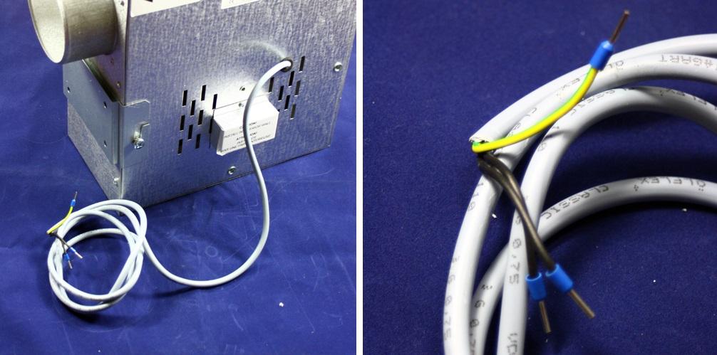 Anshluss des Ventilator Dalap SPV 100