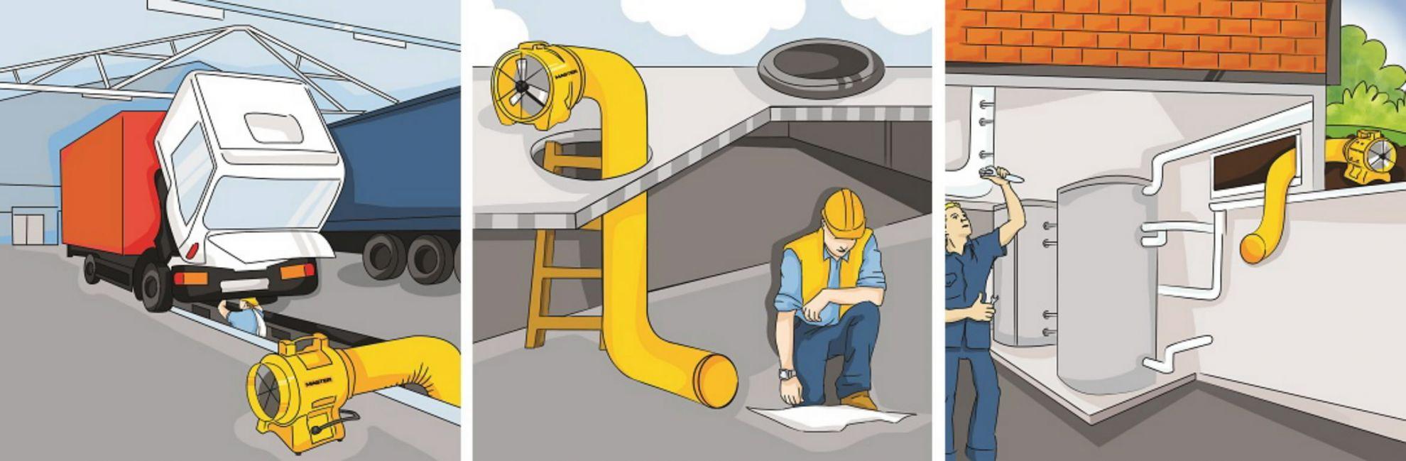 Bodenventilator Master BL 8800 gebraucht