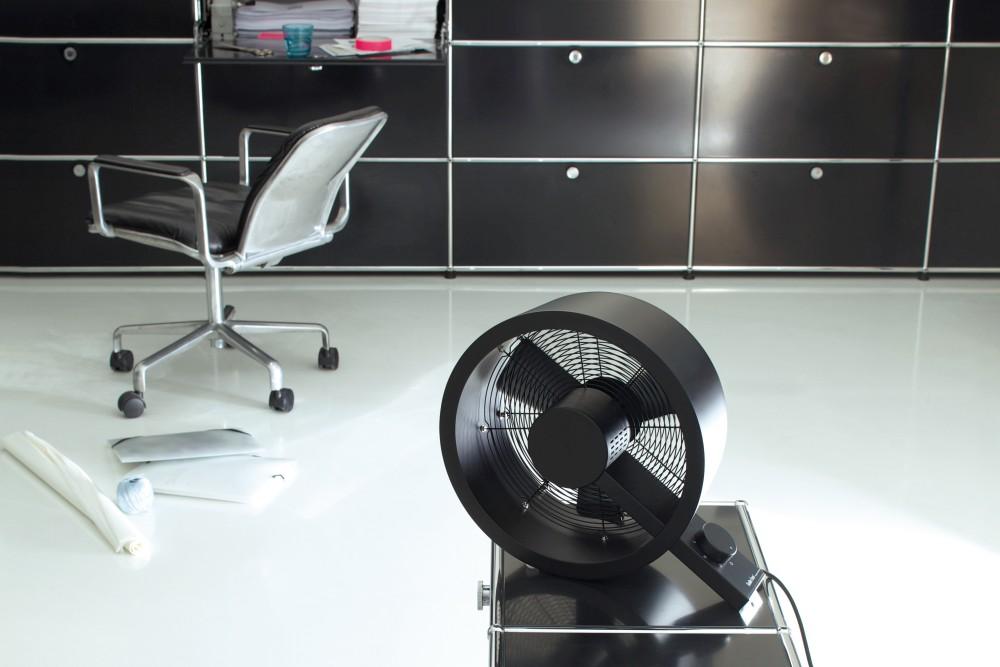 Bodenventilator Stadler Form Q schwarz und seine Verwendung